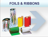 Foils and Ribbons for Label Printers